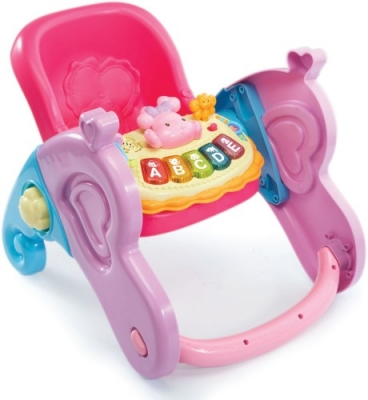 Babystoel 4 in 1 Little Love Vtech: 18+ mnd (80-179423)