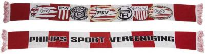 Sjaal PSV rood/wit logo`s (1003020034)